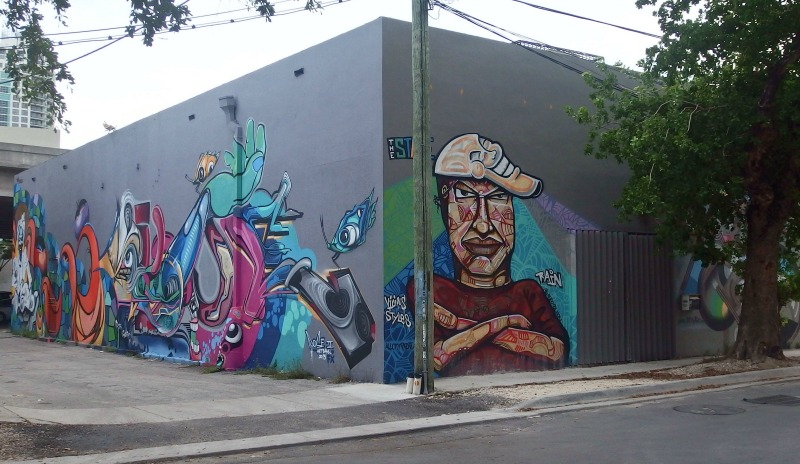 street art miami, wynwood art district