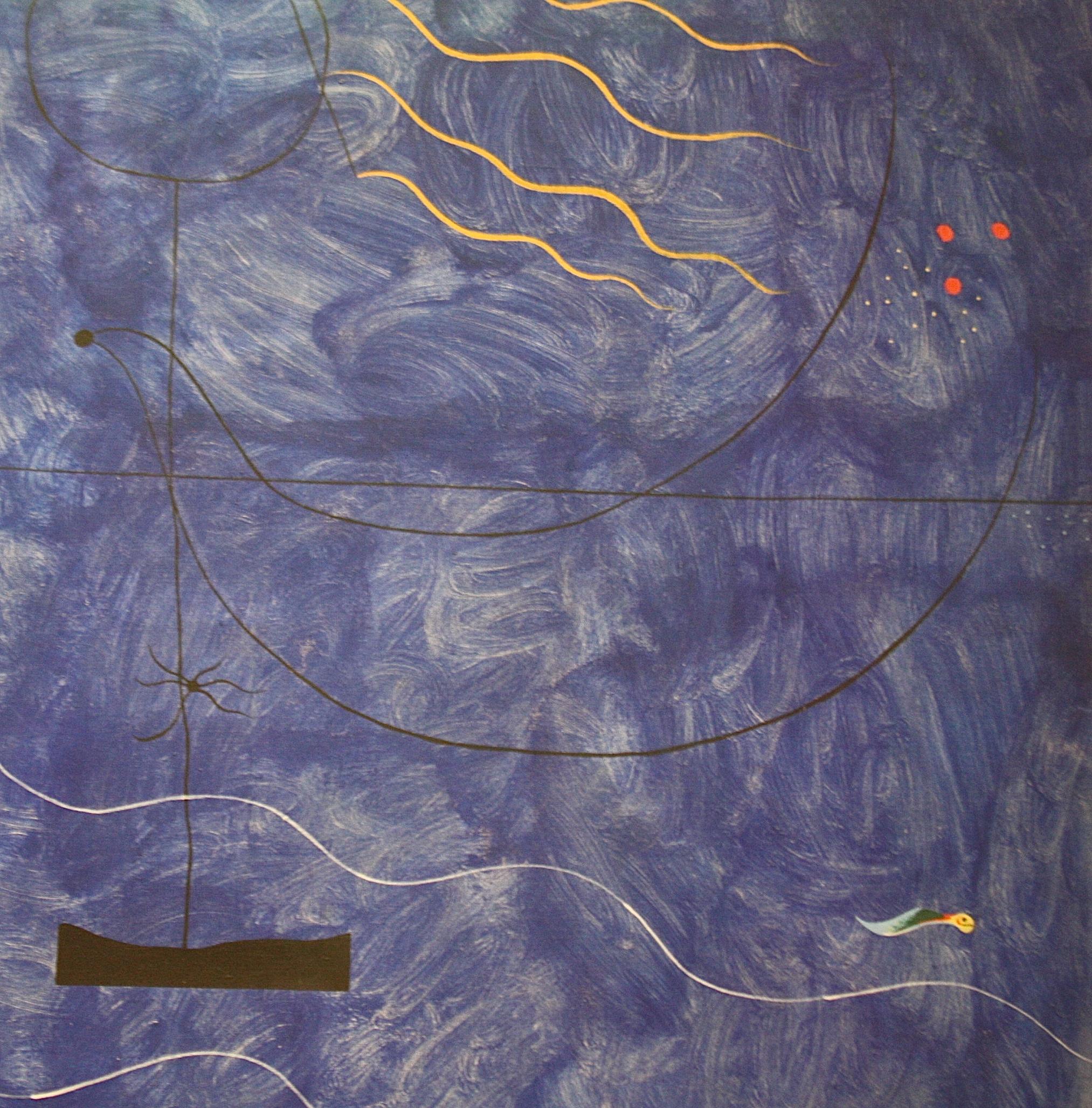 Joan Miro, 1924, détail, exposition leiris, centre pompidou-metz