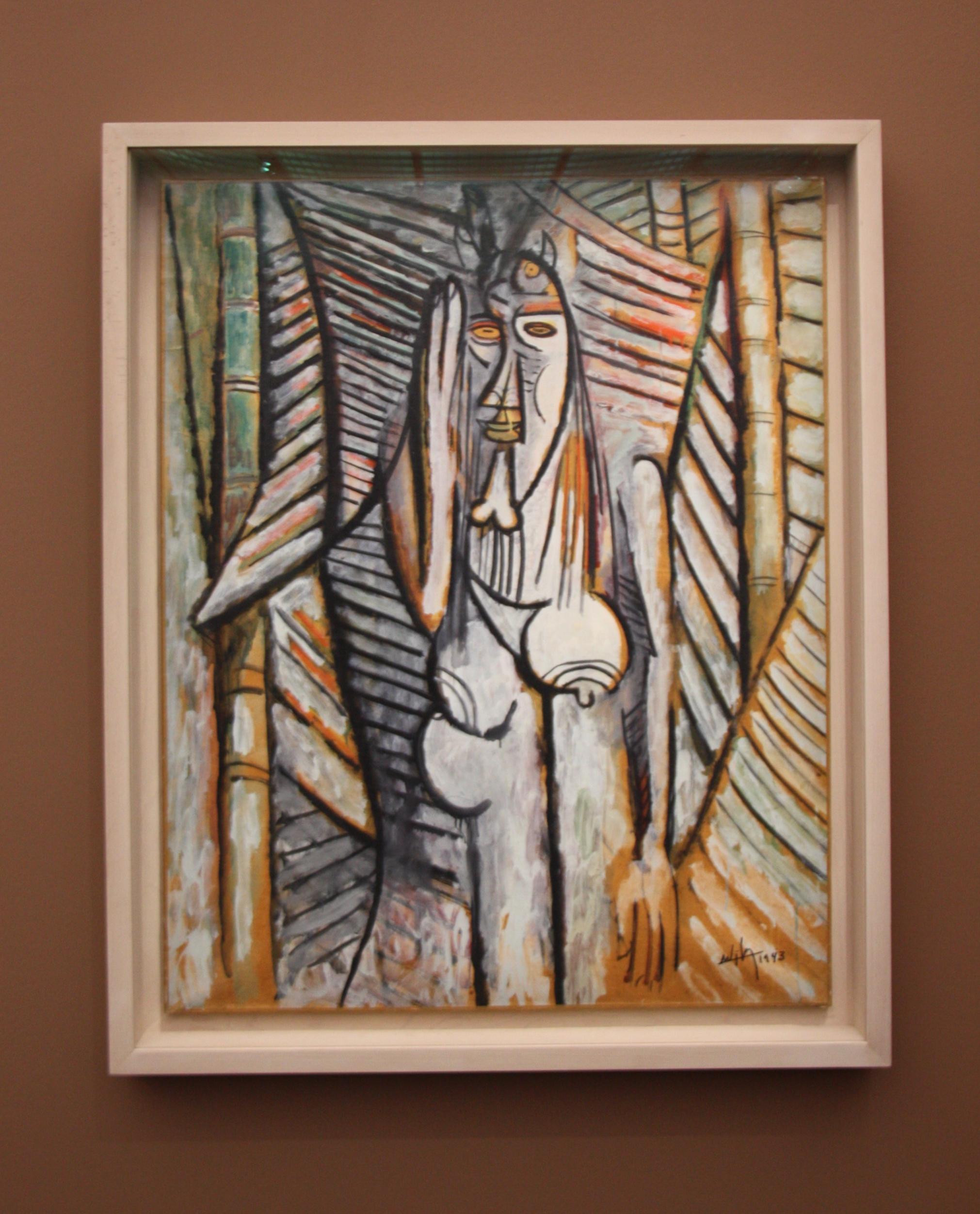 Wifredo Lam, le bruit, 1943, centre pompidou-metz, exposition leiris