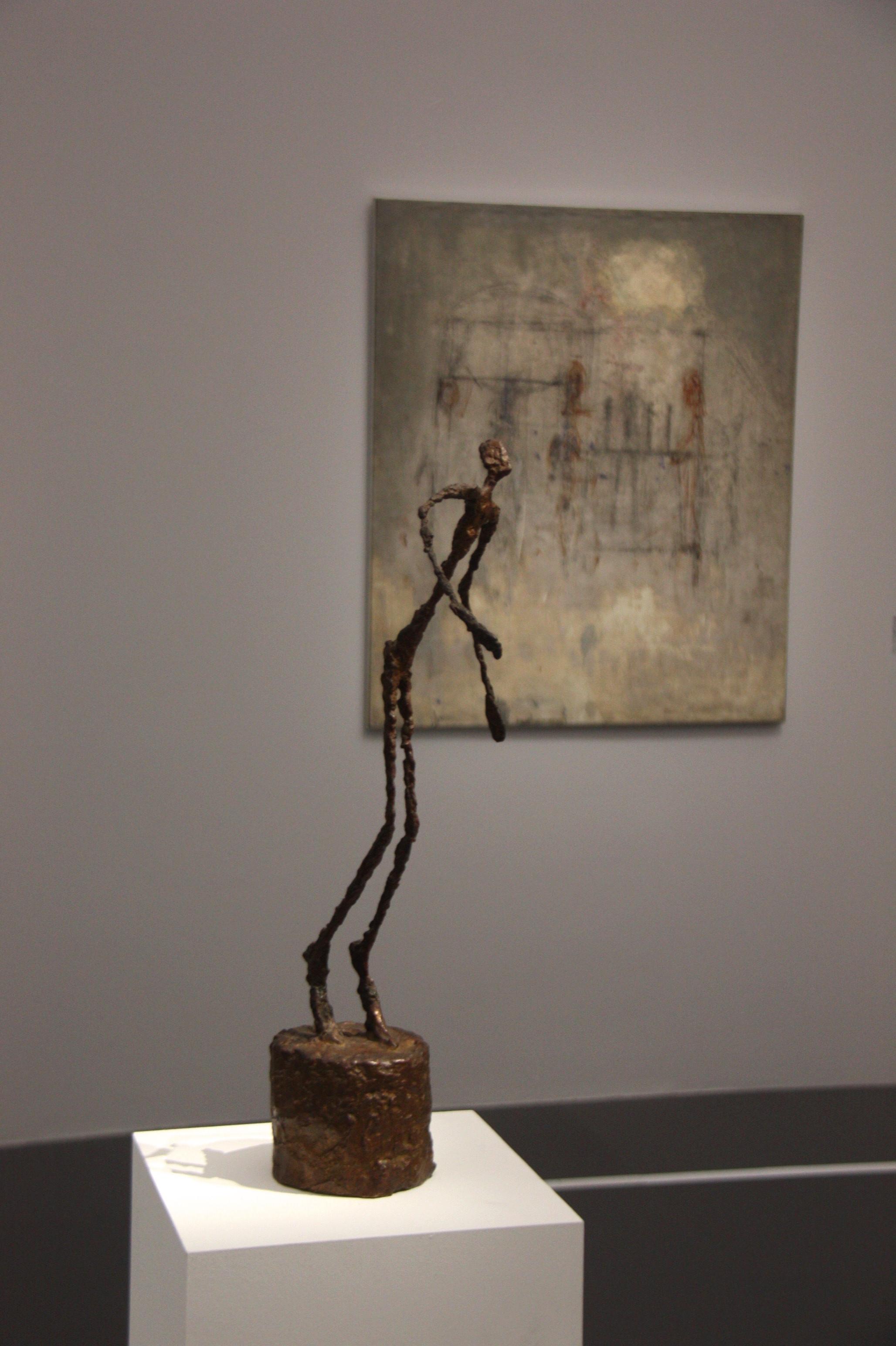 Alberto Giacometti, l'homme qui chavire, 1950, exposition leiris, centre pompidou-metz