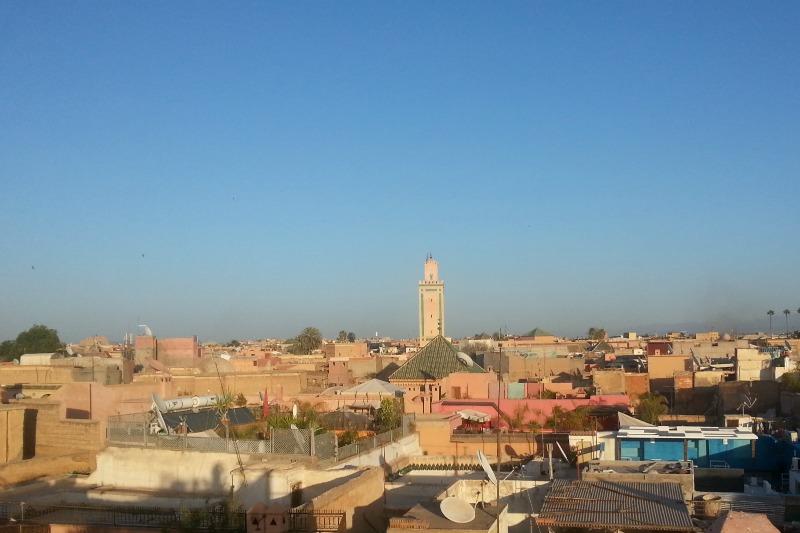 la médina à Marrakech