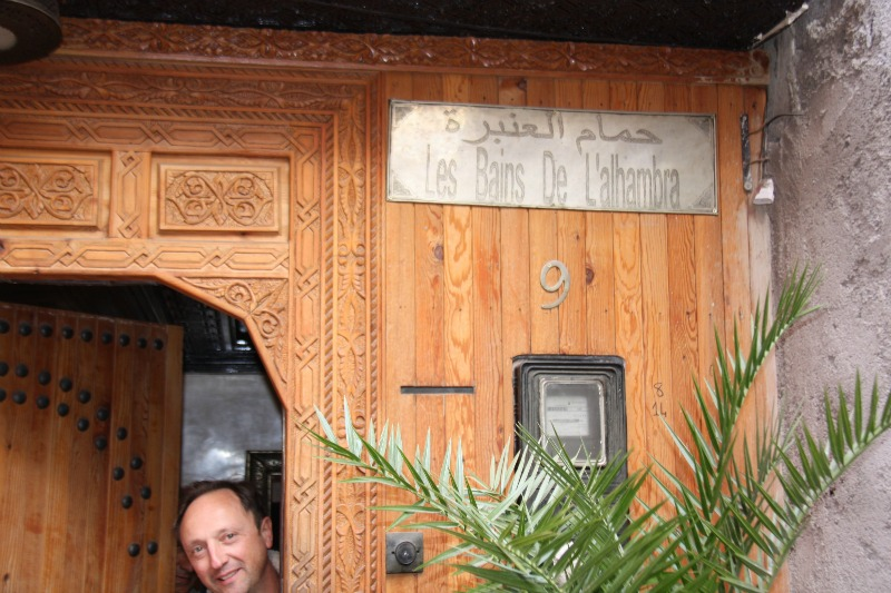 hammam dans la médina de Marrakech