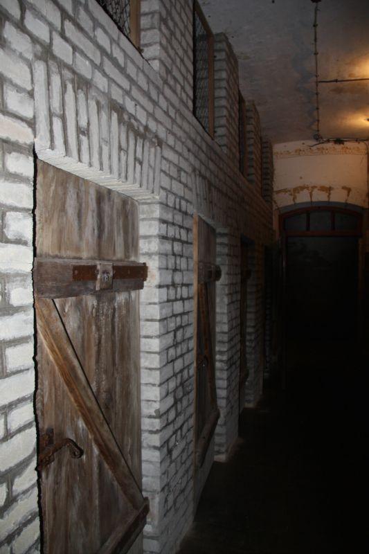 ancien camp de déportés nazi au fort de Queuleu à Metz