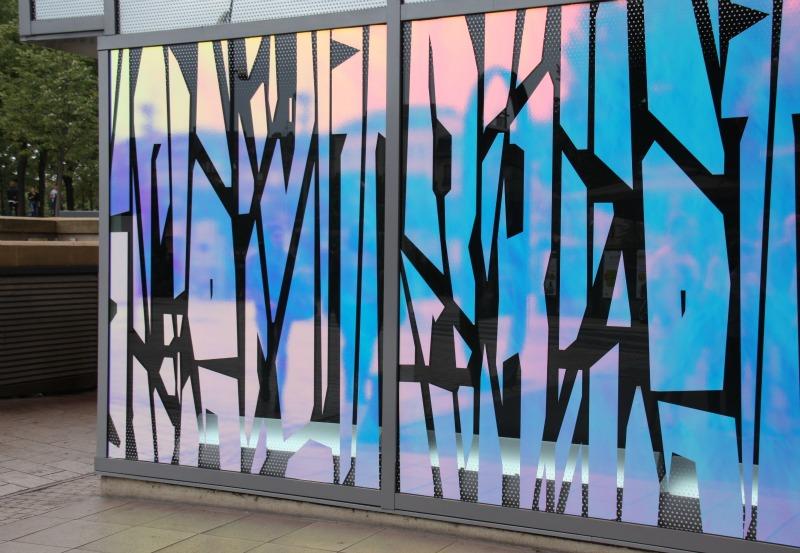 ICTB, Tania Mouraud, Metz, galerie Lafayette