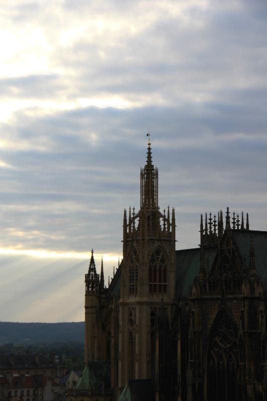 la tour de la mutte, Metz, cathédrale St-Etienne