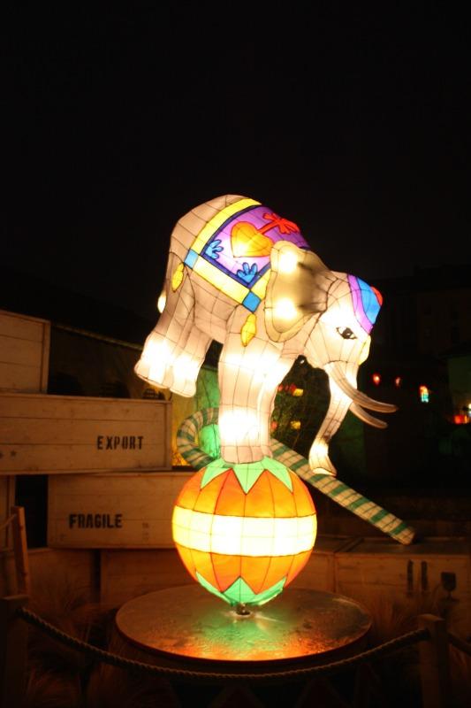 le sentier des lanternes