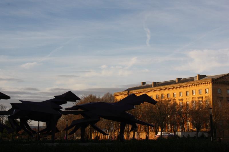 Place de la République, le carrosse de Xavier Veilhan, 2009