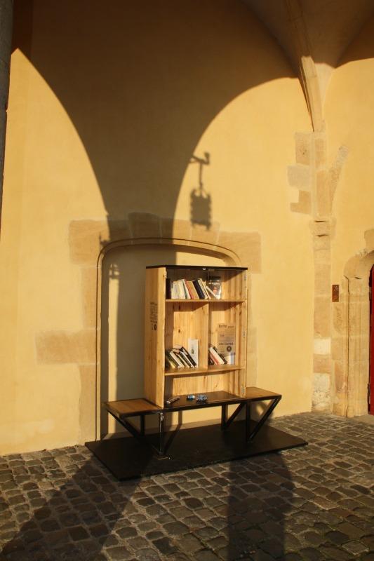 la boite à livres récemment installée