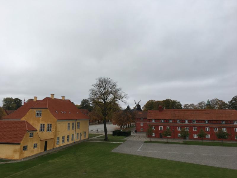 les casernes de la citadelle
