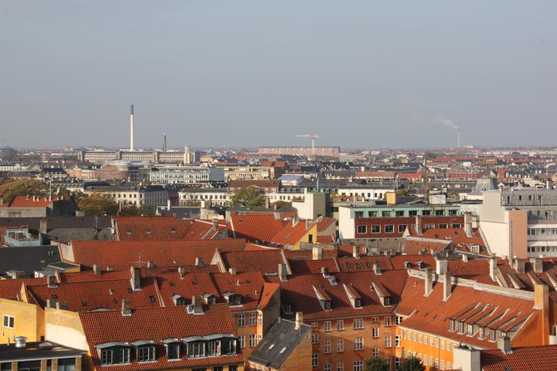 les toits de Copenhague