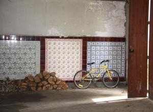 L'intérieur de l'entrepôt Villeroy & Boch à Metz