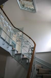 L'intérieur de la maison  Villeroy & Boch à Metz