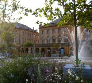 Opéra-théatre de Metz, jardin éphémère