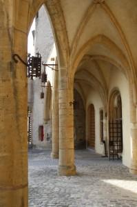 La porte des allemands, les arcades